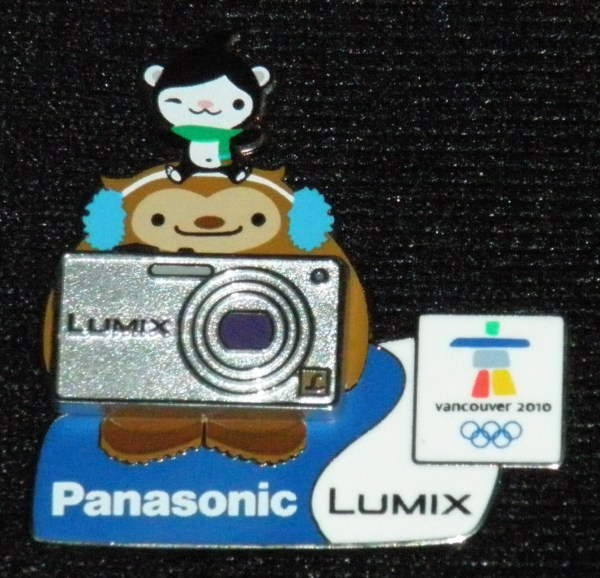 My new Panasonic Lumix pin!!