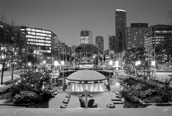 Robson Square - before the renovations.  Photo by @Tripleman.