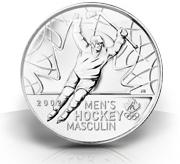 Olympic Moments - #1 Men's Hockey Gold 2002 Coin