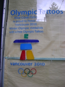 Free Olympic Tattoos for medallists