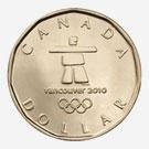 2010 Lucky Loonie - Ilanaaq, the Olympic Emblem