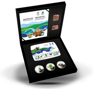 Emblems and Mascots coin and pin set - ~$50 - Only 16,000 made