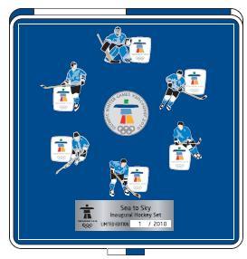Sea-to-Sky Hockey Pin set