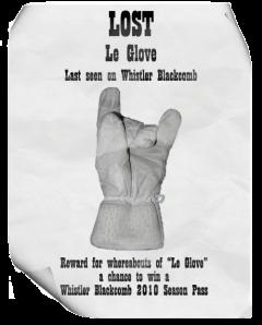 Le Glove Contest Ad