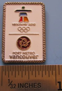 Port Metro Vancouver pin