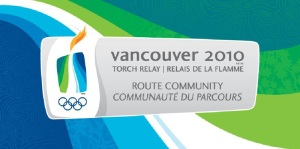 Torch relay route community logo