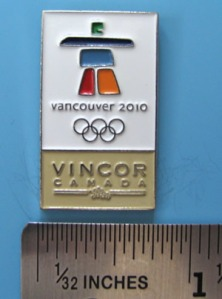 Vincor pin - yes, it does have to do with wine...