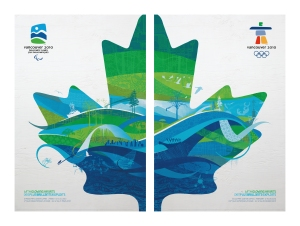 """With Glowing Hearts"" - The Official Olympic and Paralympic Posters"