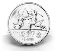Olympic Moments - Women's Hockey Gold 2002 Coin