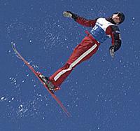 Steve Omischl, member of the Canadian Freestyle Ski Team