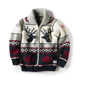 Hand-knit Team Canada Sweater - men's or women's $350.