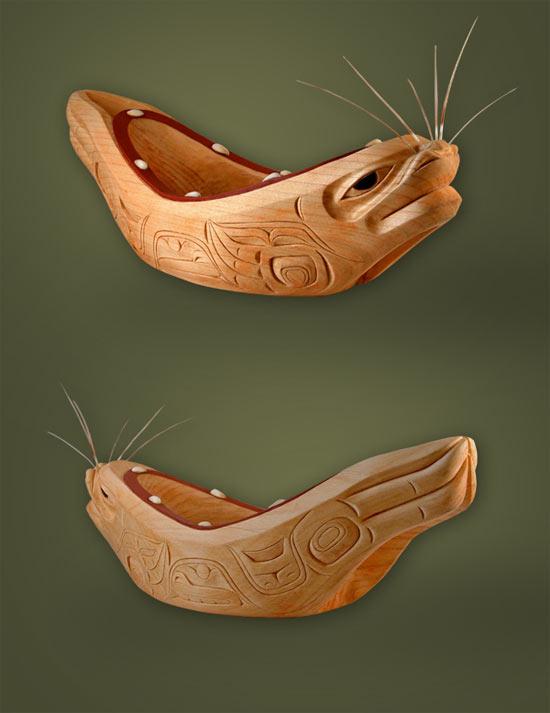 Seal bowl by Dean Heron