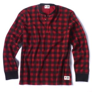 Women's 'Lumberjack' shirt, also available in men's and children's.