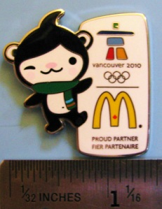 Miga McDonalds corporate pin - thanks to pincollectorssite.com for the photo.