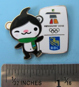 Miga RBC pin - thanks to pincollectorssite.com for the photo.