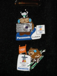My Panasonic Pins - So fabulous!!  Thanks D from P!