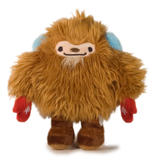 Quatchi with Red Mittens!