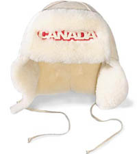 Torino 2006 Team Canada Shearling Trapper Hat