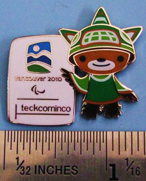 Teck Cominco's Sumi pin - image from pincollectorssite.com