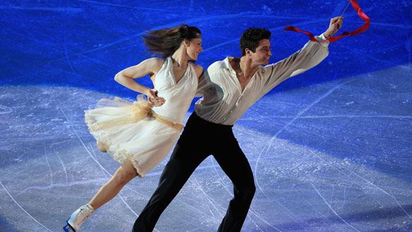 Tessa and Scott - Ice dance skaters