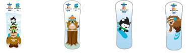 Pin - mascot snowboards